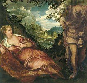 Tintoretto: Giuda e Tamar