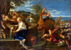 Mosè e le figlie di Ietro