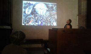 Paolo (Toldo) Quaresima illustra un dipinto di M. Chagall